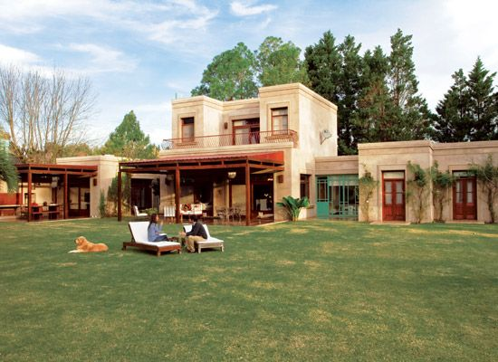 Casa campo for the home pinterest for Fachadas de casas de campo