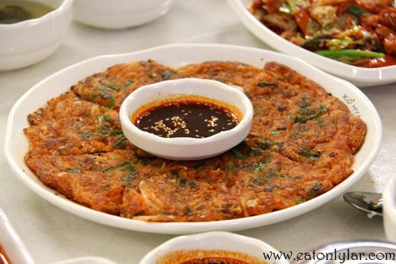 Kimchi jeon | Food | Pinterest