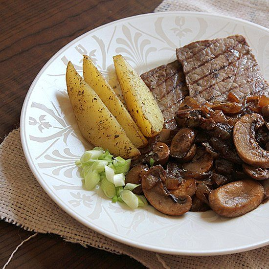 and mushrooms quick skillet steak with onions and mushrooms recept ...