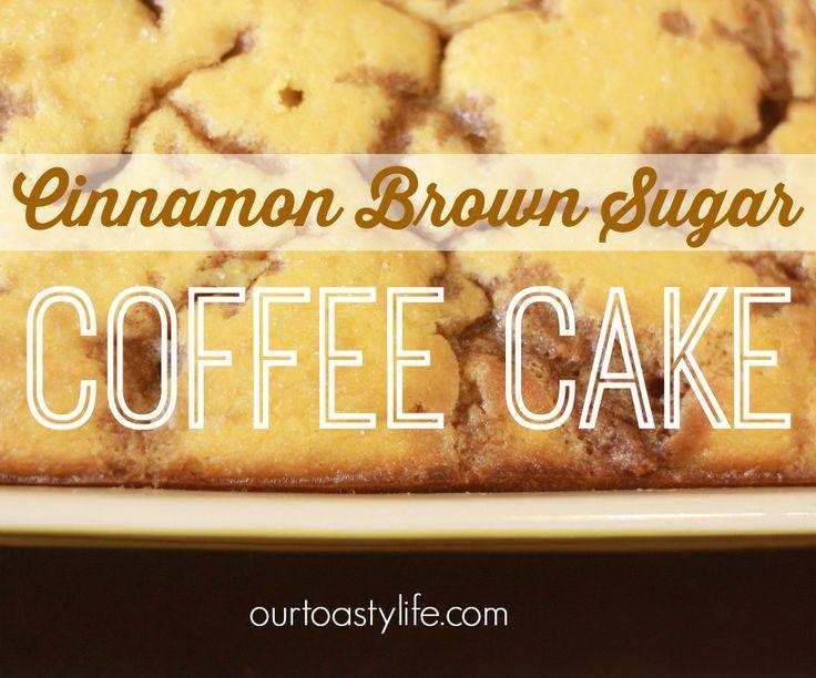 "Cinnamon Brown ""Sugar"" Coffee Cake (Low Carb, Gluten Free, Low Sugar)"