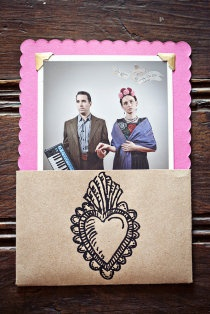 Frida Kahlo wedding invitations!!! TO DIE FOR!!