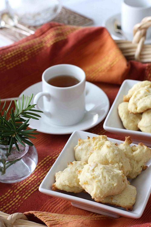 Orange & Coconut Tea Cookie Recipe | Stuff for the mister! | Pinterest