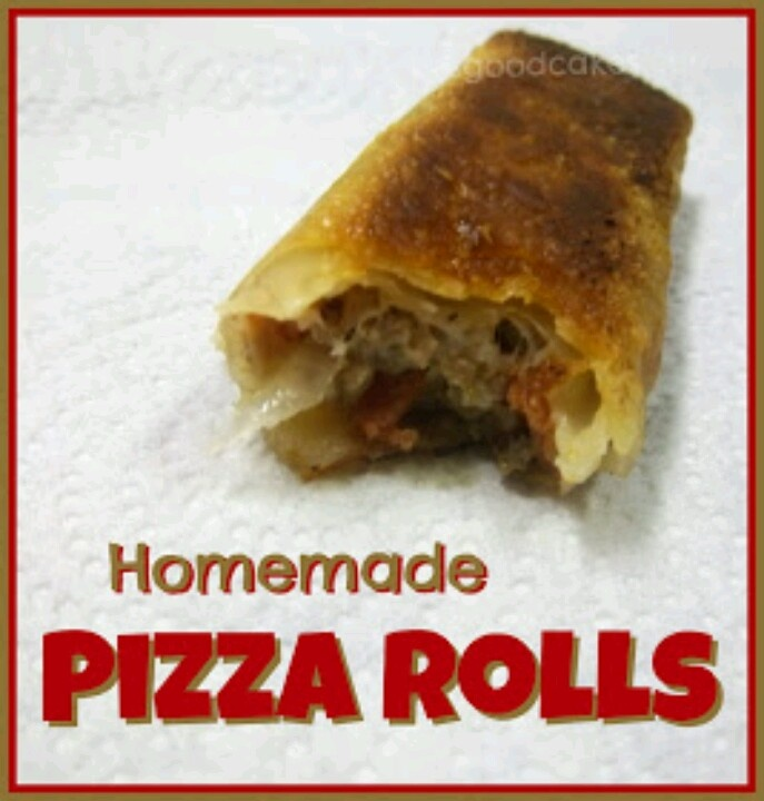 Homemade pizza rolls | Recipes, Concoctions, Creations | Pinterest