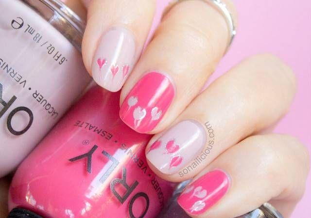 pics of valentine nail art