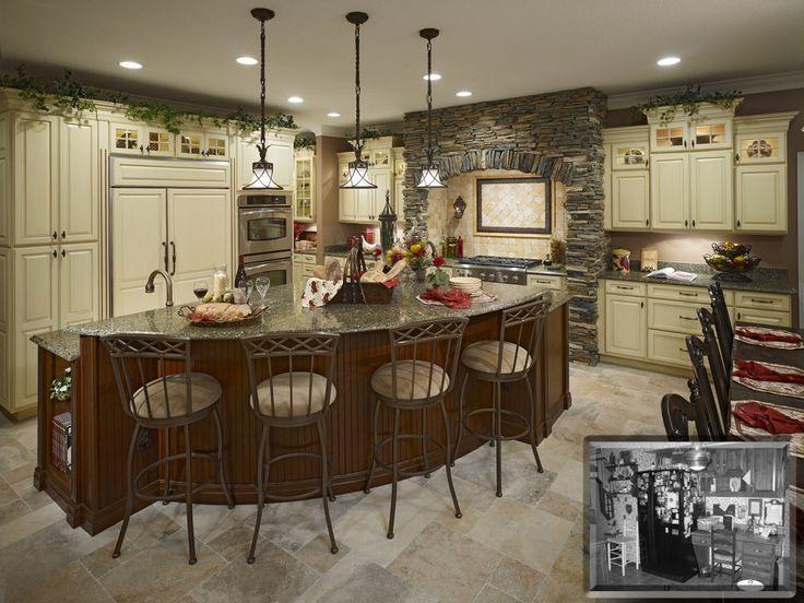 Pin by deb bowerman on kitchen ideas pinterest for Ranch home kitchen ideas