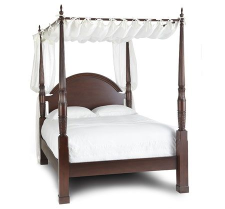 Herning Four Poster Bed Bombay Canada Bedrooms By