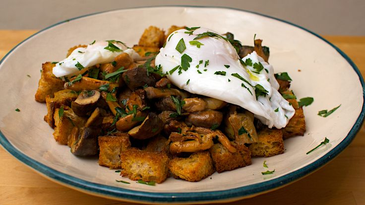 Mushroom Ragout with Poached Duck Egg | Mushrooms Recipes | Pinterest