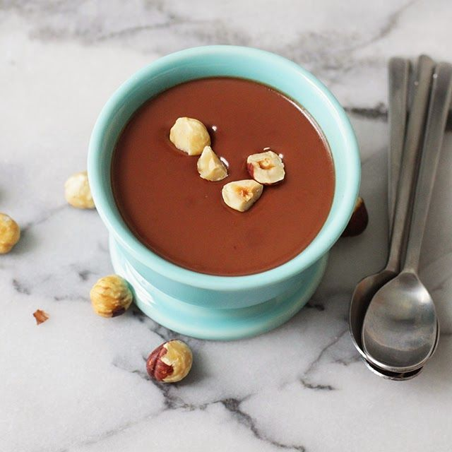 Chocolate Hazelnut Panna Cotta (egg-free, contains gelatin. Use Great ...