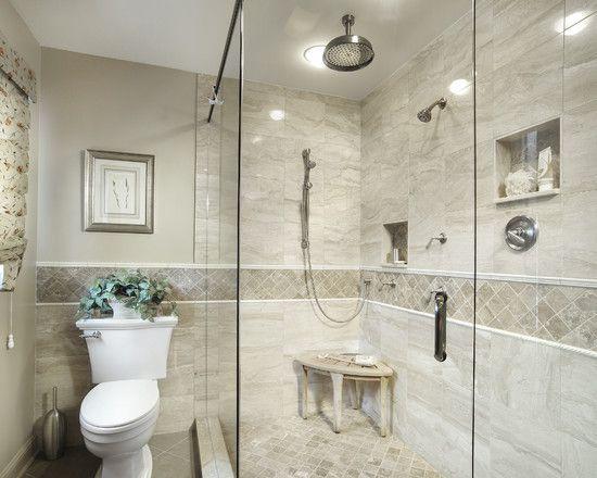 Pin by nicole marotta on bathrooms pinterest for 4x4 bathroom ideas