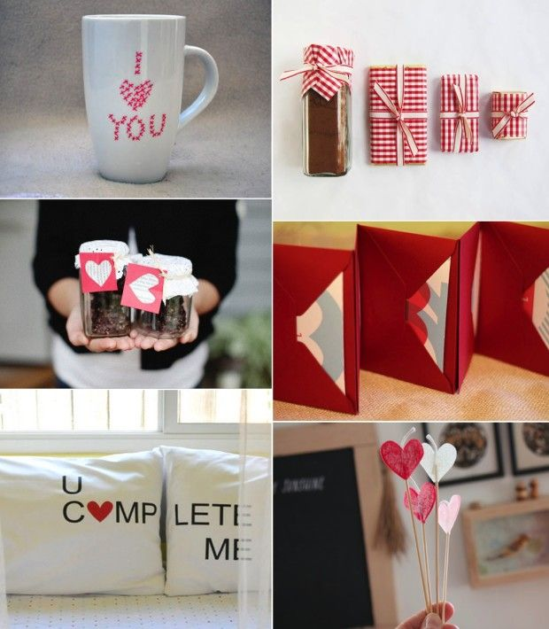 DIY Valentine Day Gifts For Him - Love the pillow cases