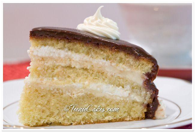 ... Challenge: Filbert Gateau with Praline Buttercream — Teenie Cakes