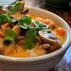 Tom Kha Kai - Thai coconut soup   Recipe-Soup   Pinterest
