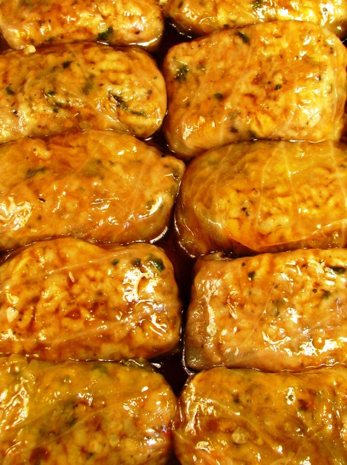 ... can get to my family's Serbian Sarma- Vegetarian Cabbage Rolls