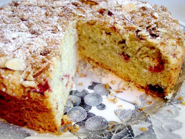 Cherry Almond Cake | Tart Cherry Decadence | Pinterest