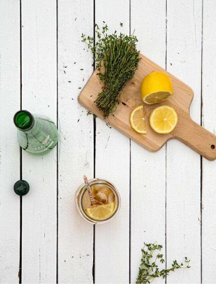 Earl Grey and Elderflower Iced Tea | Erika Rax