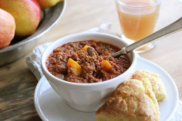 sweet and spicy beef & butternut Chili | recipes | Pinterest