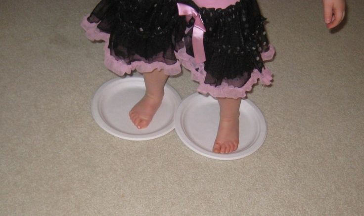 Ice Skating On Paper Plates