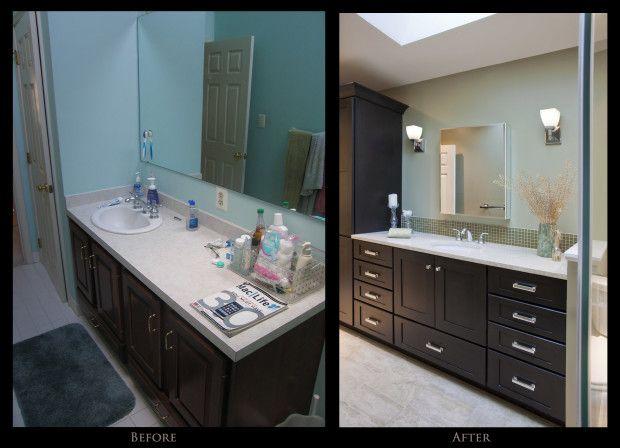 Bathroom remodel diy linden pinterest for Diy bathroom remodel