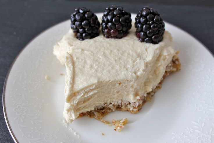 Meyer Lemon Cashew Cream Pie | Dessert-Pies | Pinterest