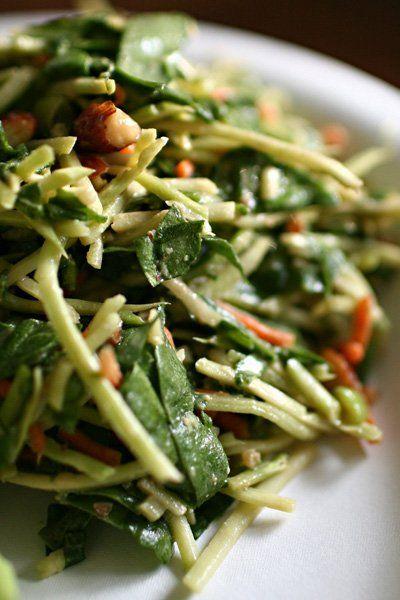 Late Winter Salad Recipe: Miso Slaw