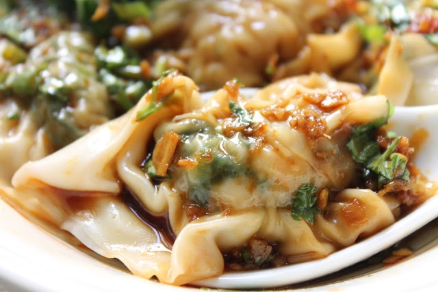 Spinach, Pork and Prawn Wonton | Bon appétit ! | Pinterest
