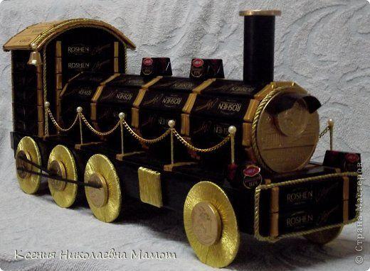 Поезд своими руками мастер класс 85