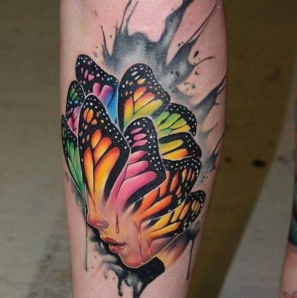 45 Mesmerizing Surreal Tattoos That Are Wonderful: Tatted & Beautiful