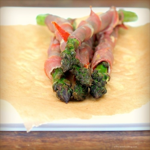 Broiled Prosciutto-Wrapped Asparagus Spears Recipes — Dishmaps