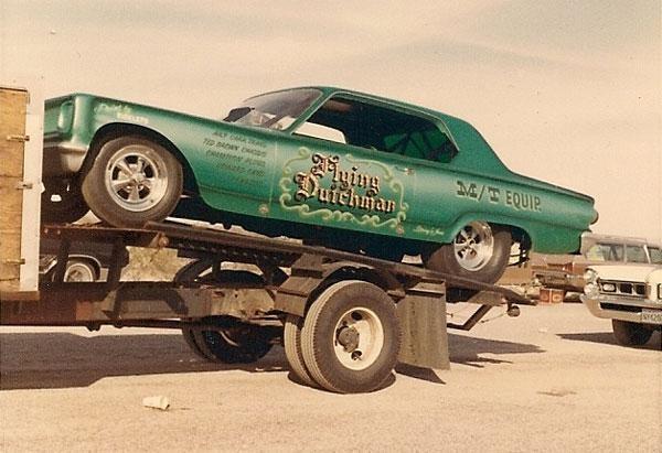 Flying Dutchman Mopar Funny Car Vintage Drag Racing