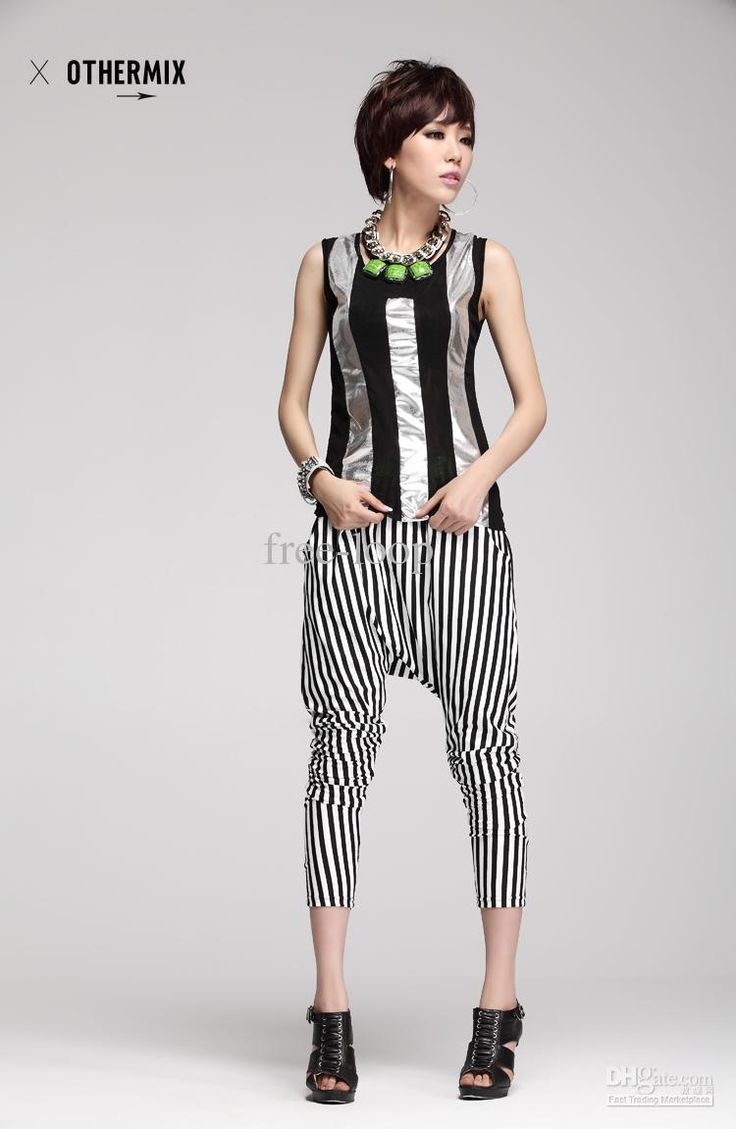 Model Wide Leg Pants Chiffon Skirt Pants Fashion Skorts Culottes Harem Pants
