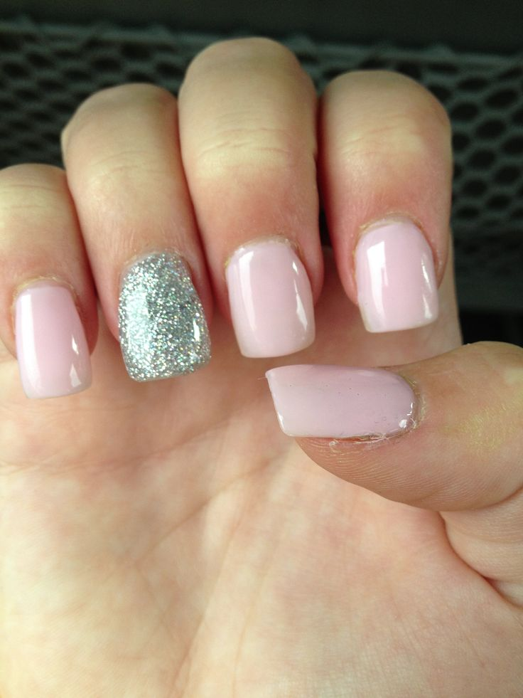 Light Pink Nail Designs With Bows Light pink sparkle nailsLight Pink Nail Designs Pinterest