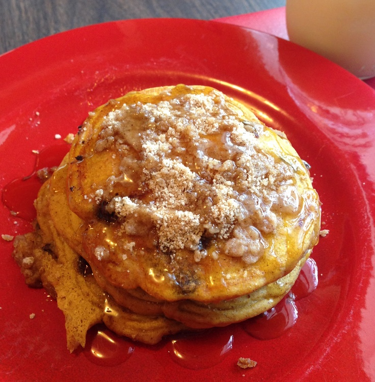 Pumpkin Cinnamon Streusel Pancakes | Cookies, Cakes, Brownies & Co ...