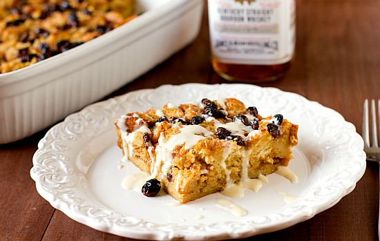 New Orleans Bourbon Bread Pudding with Bourbon Sauce | Recipe