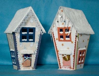 paper gingerbread house templates | Christmas Ideas | Pinterest
