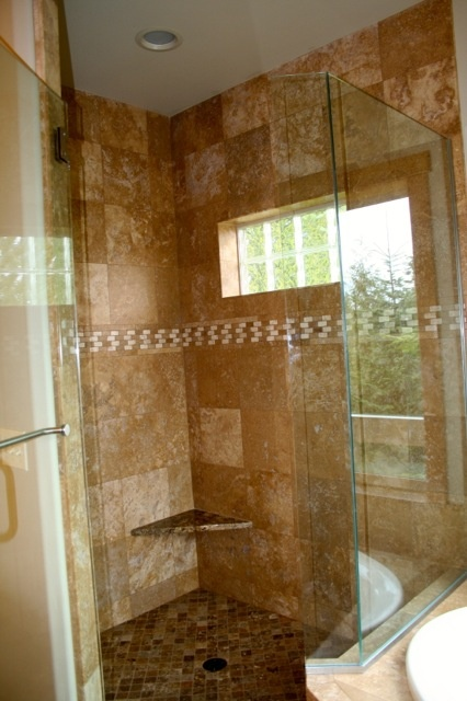 Bathroom Shower Ideas On Pinterest : Master bath shower house bathroom ideas