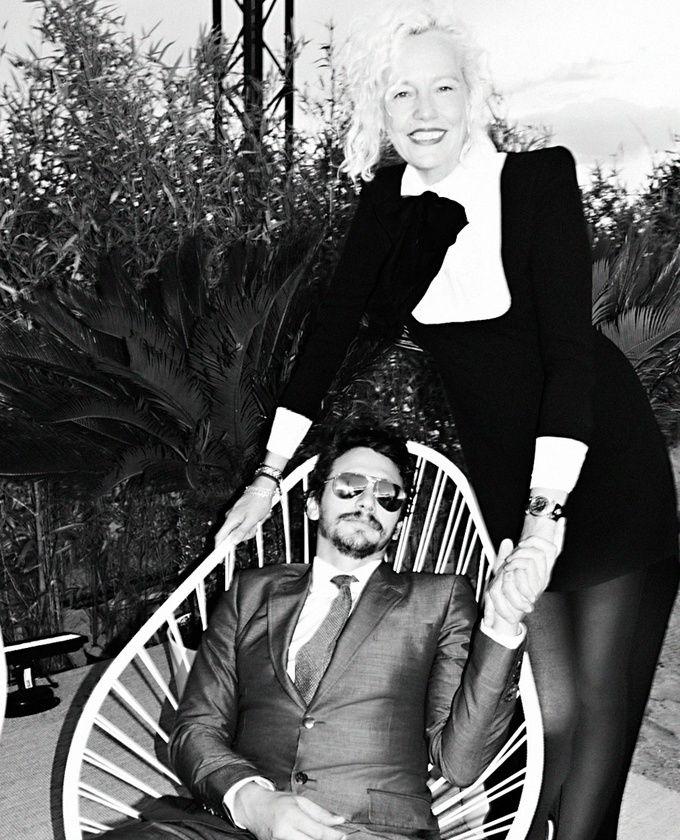 James Franco et Ellen von Unwerth.