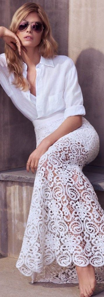 CHIC IN THE CITY - white mermaid