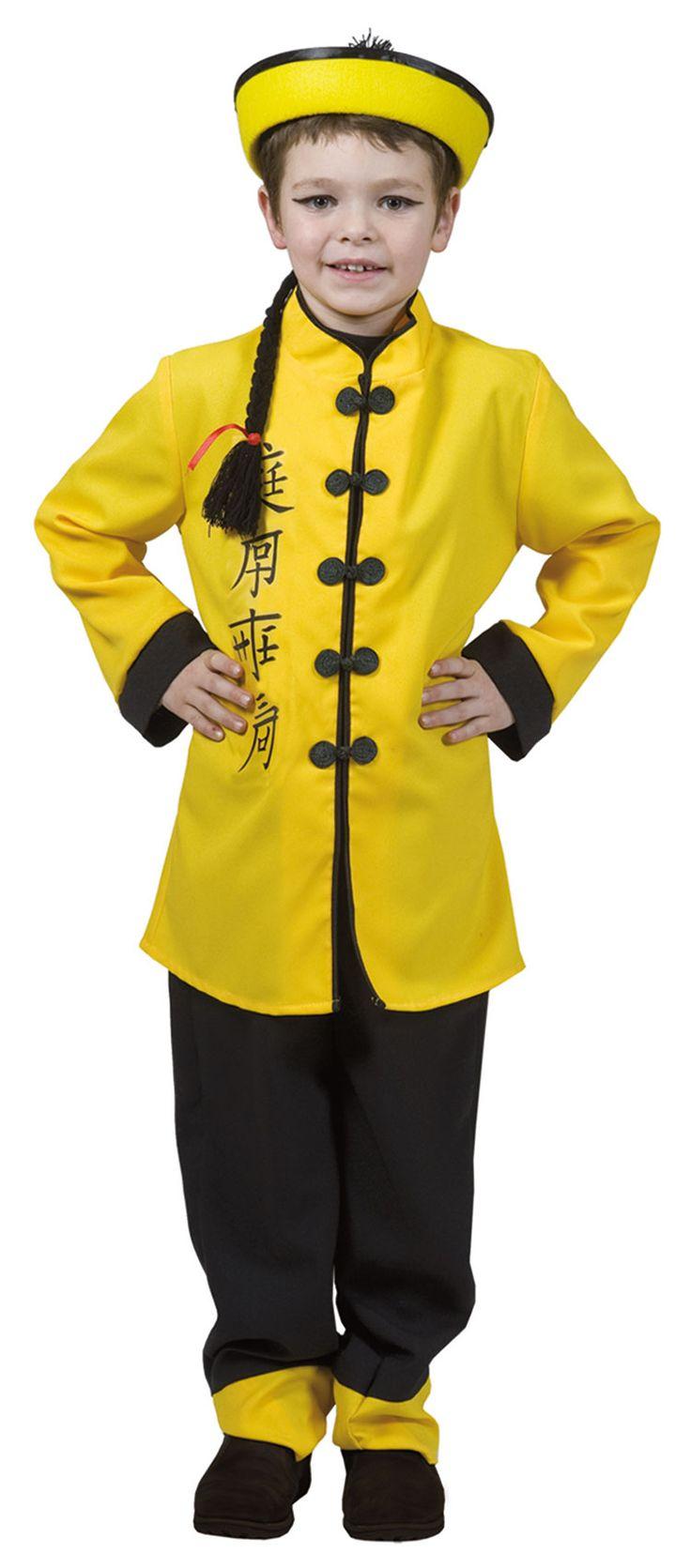 Китайский костюм своими руками для мальчика
