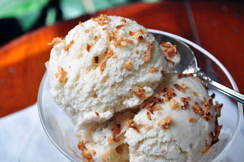 toasted-coconut-ice-cream-1 | GET IN MAH BELLEH | Pinterest