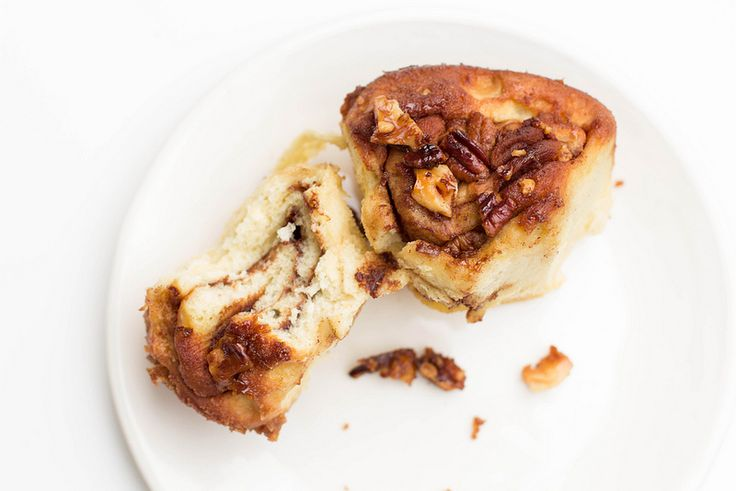 chocolate hazelnut (nutella) sticky buns