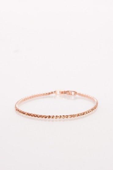 Eternity bracelet in rose gold jewelry pinterest