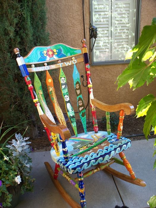 painted chairs furniture pinterest
