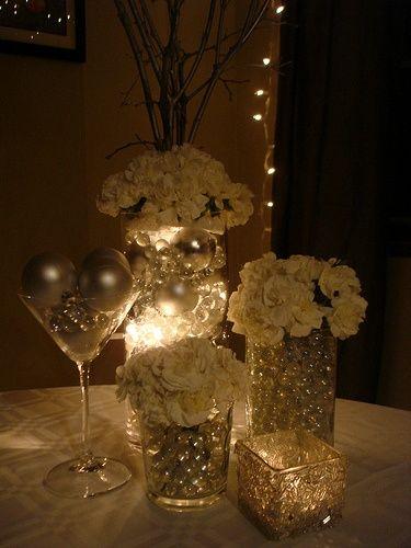 Winter Ornament Centerpiece : Winter wedding centerpieces ornaments imgkid