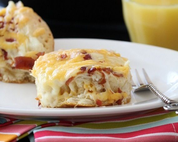 Cheesy+Bacon+Biscuit+Pull-Aparts | Appetizers | Pinterest