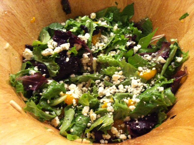 ... -Eat: Recipe / Mandarin Orange Salad with Citrus Basil Vinaigrette