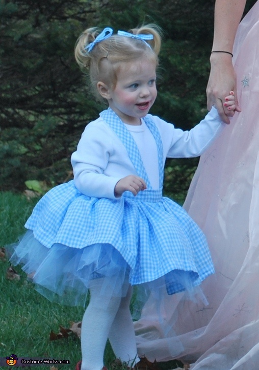 Dorothy costume wizard of oz family homemade costumes for families