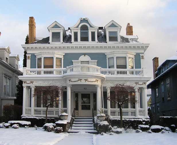 Lovely Colonial Revival House For The Home Pinterest
