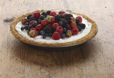 Individual Mixed-Berry Pies Recipe — Dishmaps