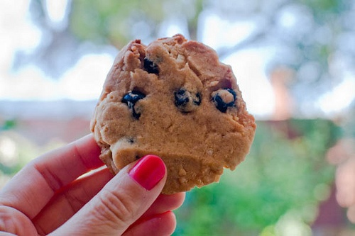 Blueberry and cream cookies by Momofuku Milk Bar