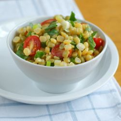 """Green and Yellow Split Pea Salad 